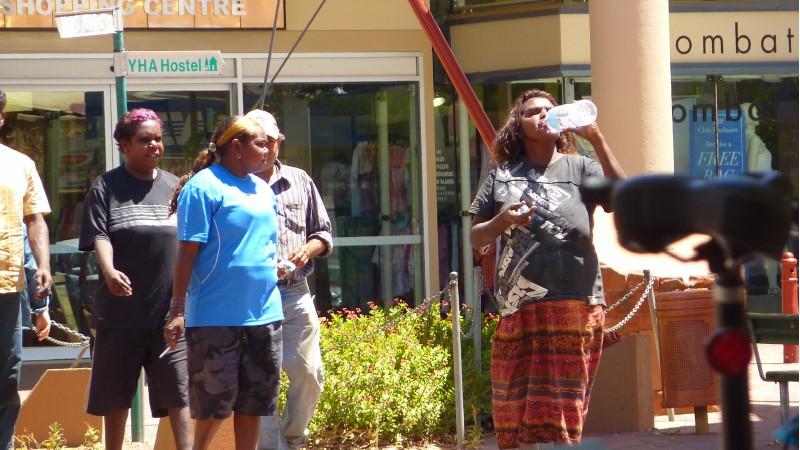 Aborigeni a spasso