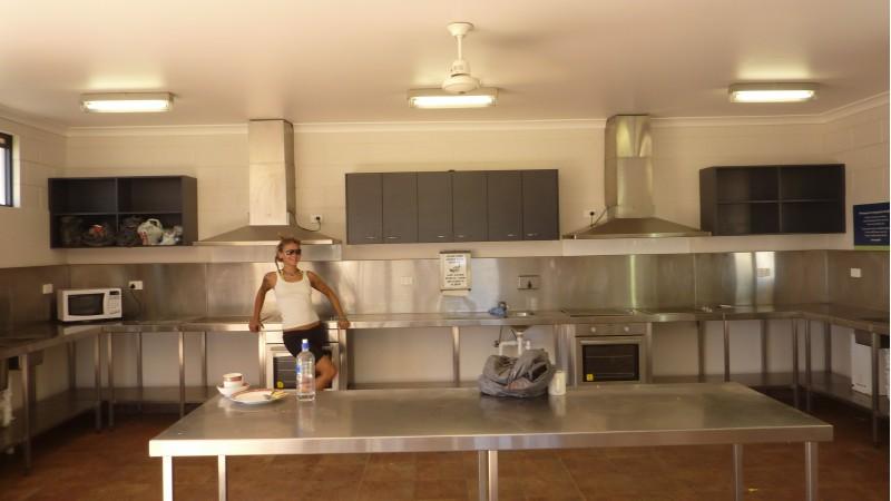 la cucina ad Exmouth_1