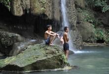 una delle cascate